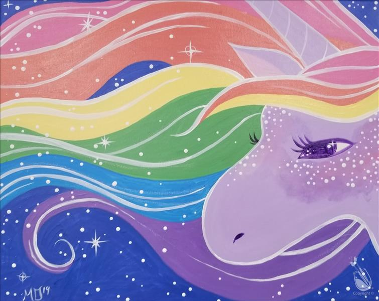 Rainbow Sparkle Unicorn for Ages 8+