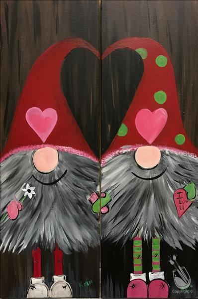 AFTERNOON ART: Gnome LOVE: $5.00 OFF