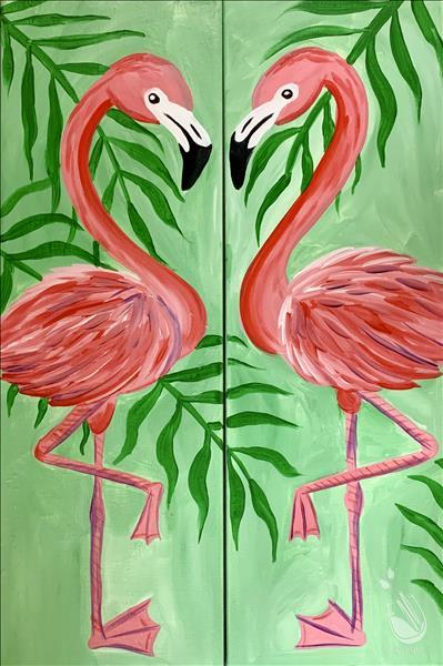 Date Night - Flamingo Love - Set