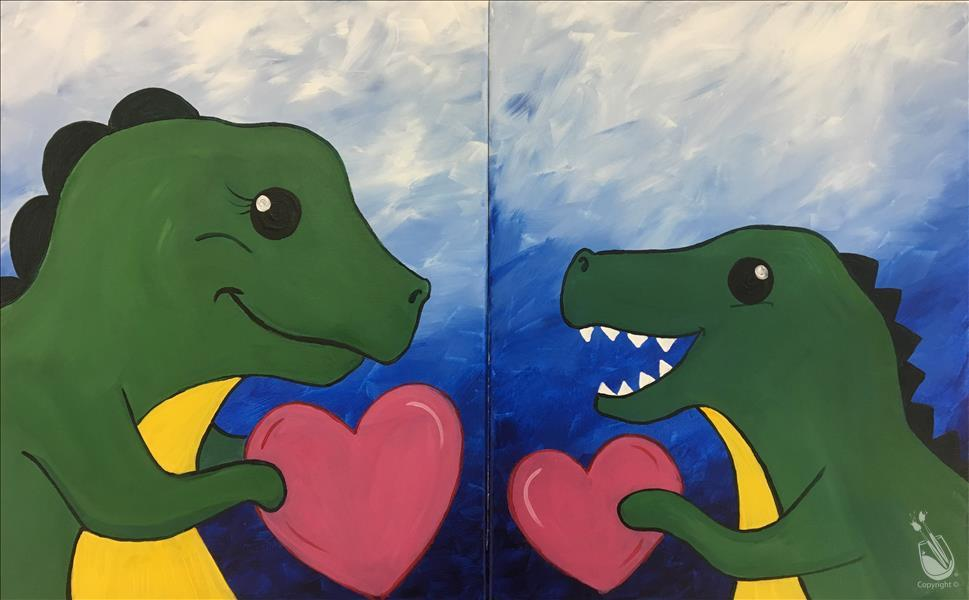 FAMILY FUN: You Make My Heart Saur - Set