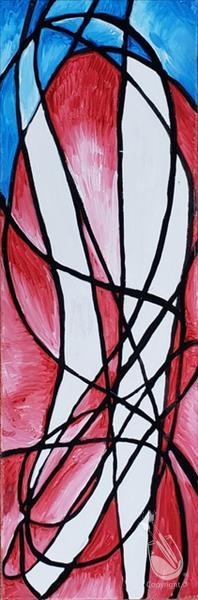 Abstract American Stained Glass***Adults Only