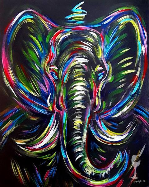 How to Paint Elephant in the Night