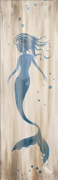 How to Paint Rustic Mermaid for Ages 10+