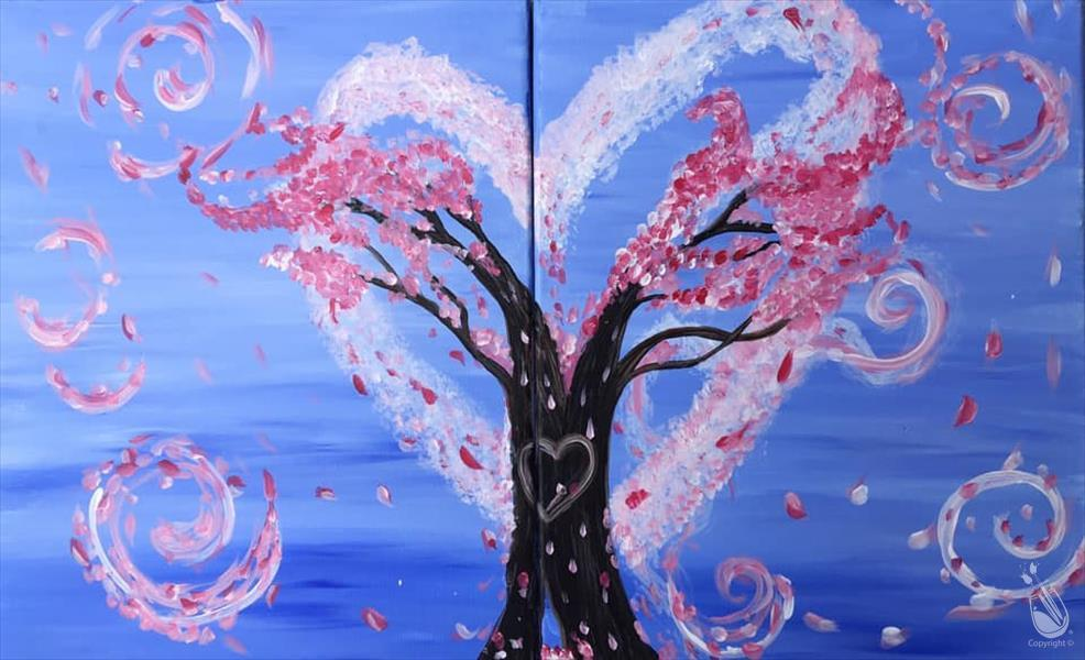 PAINT WITH MOM! Whimsy Tree Set -AGES 6+