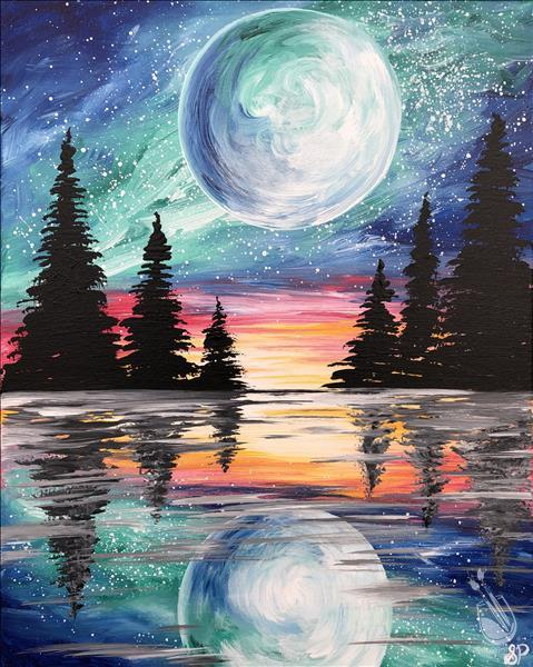 Paint Celestial Moon Today!