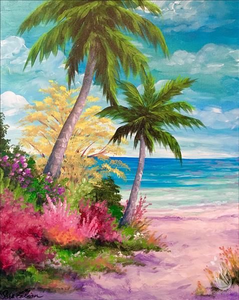 Palm Trees by the Ocean *In Studio Event*