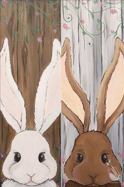 Spring Bunnies - Set or Individual