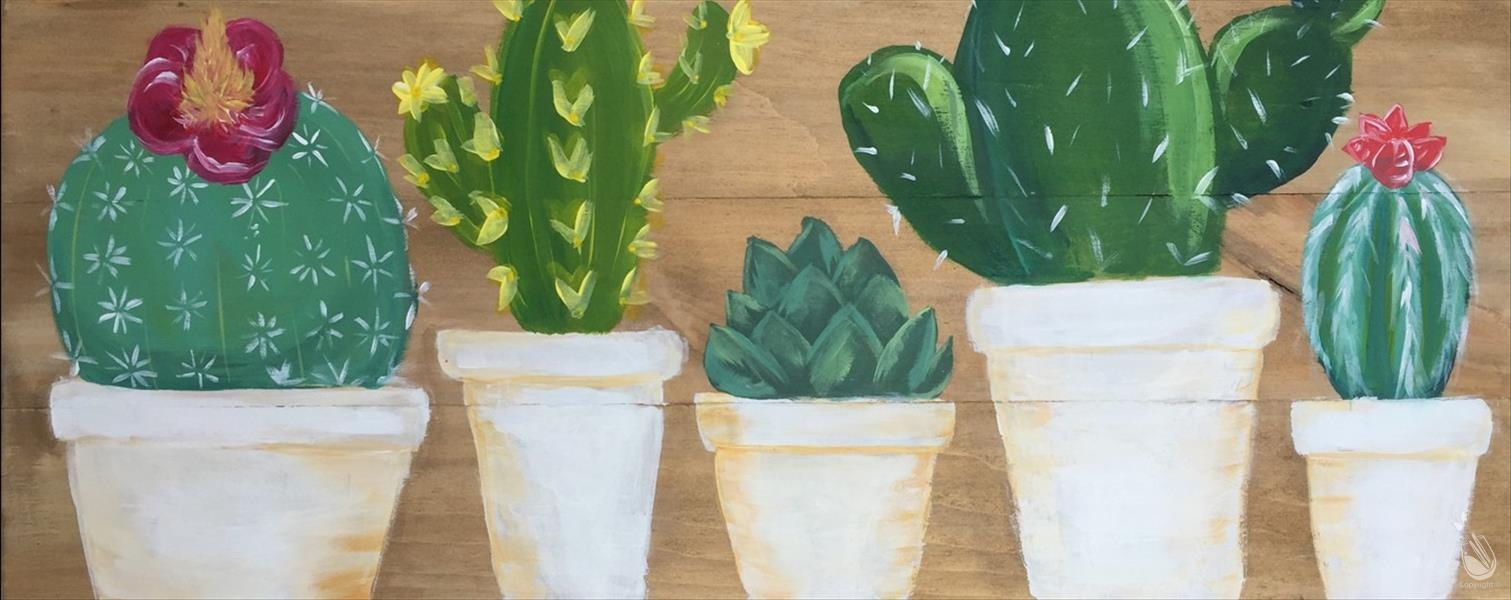 *NEW* Succulents - In Studio Event