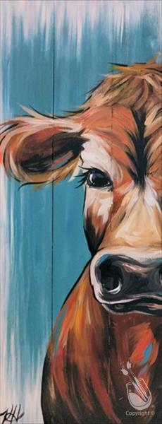 How to Paint Rustic Cow (Ages 15+)