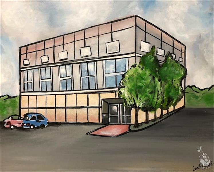 *PAINT+TRIVIA* The Office Building