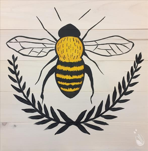 Bee Crest Real Wood Board