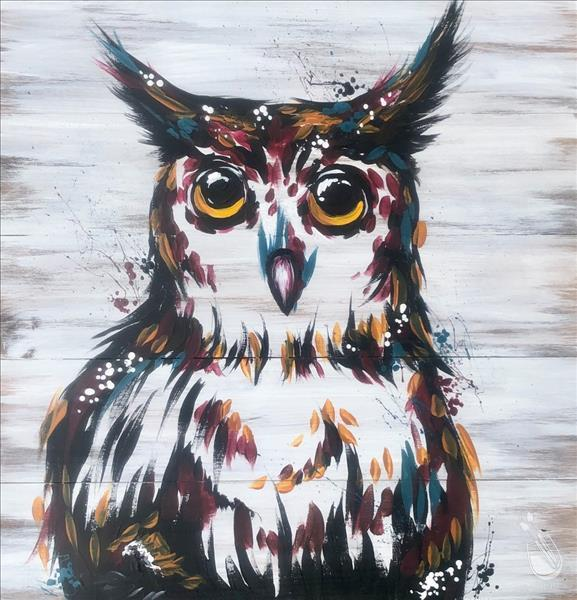 Wood Wednesday - Rustic Owl VIRTUAL