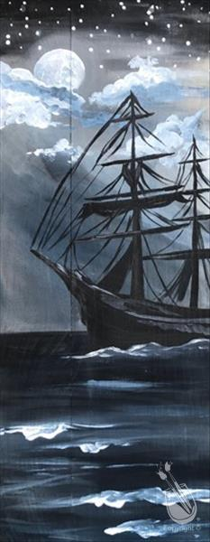 How to Paint Blackbeard's Moonlight Run (Ages 15+)