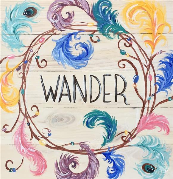 """WANDER"" FAMILY TIME-AGES 12-112! On a Real Board!"