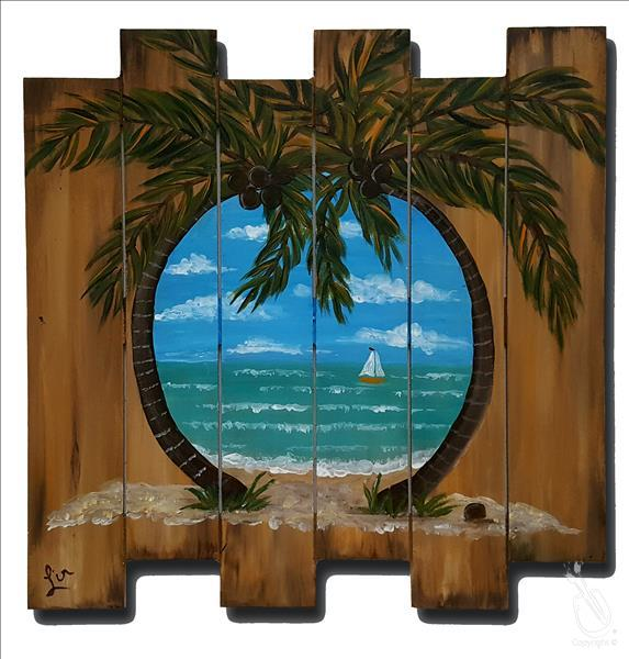 Tropic Tranquility Pallet  **LIMITED SEATING**