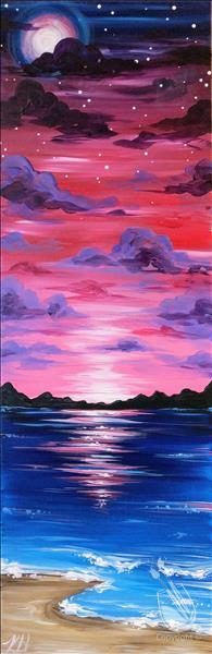 Twilight Beach 10x30