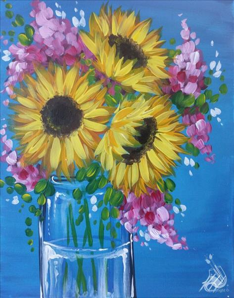 VIRTUAL PAINTING-Sunny Bouquet