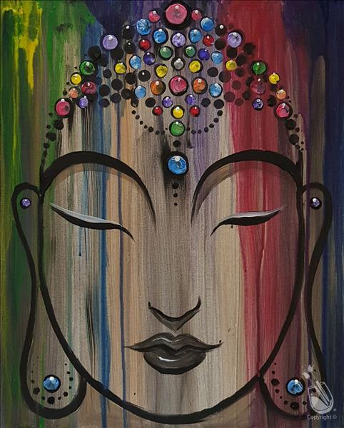 JEWELED BUDDHA**Public BLACKLIGHT Event**