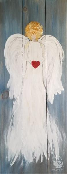 Angelic Love-Canvas, Wood & Porch! 18+