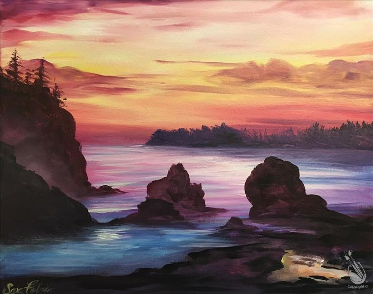 How to Paint Misty Coast