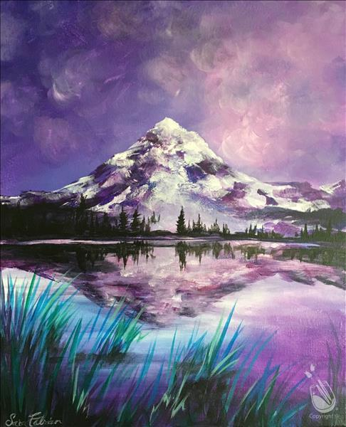 Purple Mountain Majesty Reflection