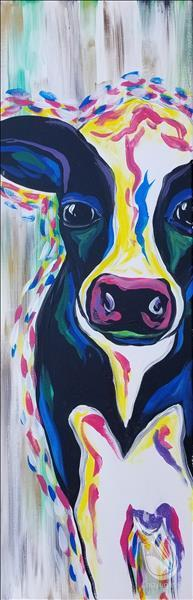 How to Paint Peekaboo Cow