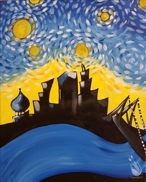Starry Night Over Hartford