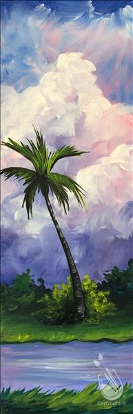 VIRTUAL PAINTING EVENT-Paradise palm
