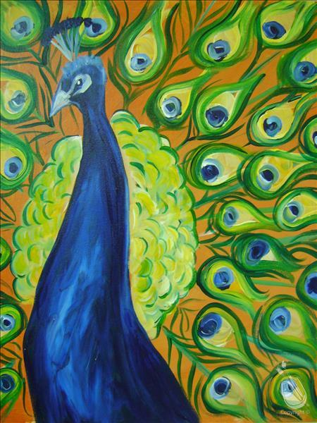 NEW Art! Peacock