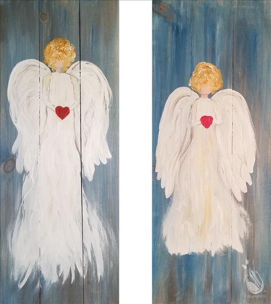 Angelic Love Real Wood Boards - Set