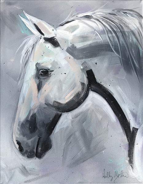 Saving the horses by Painting with a Purpose