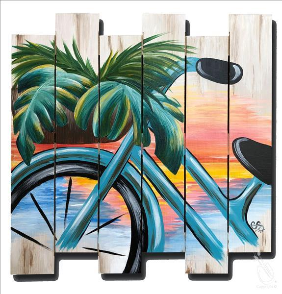 Beach Vibes and Bike Rides Pallet