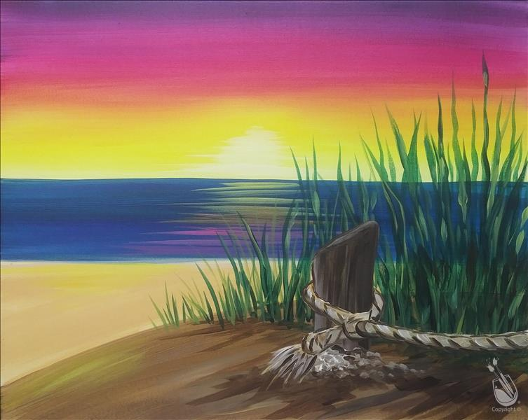 How to Paint NEW! - Cape Cod Sunset