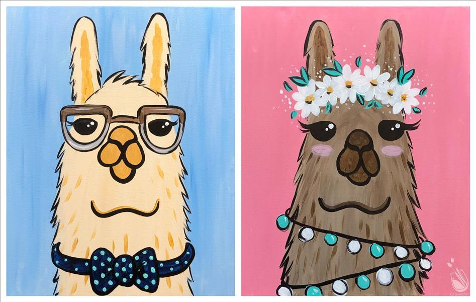 Llama Family - Date Night Set