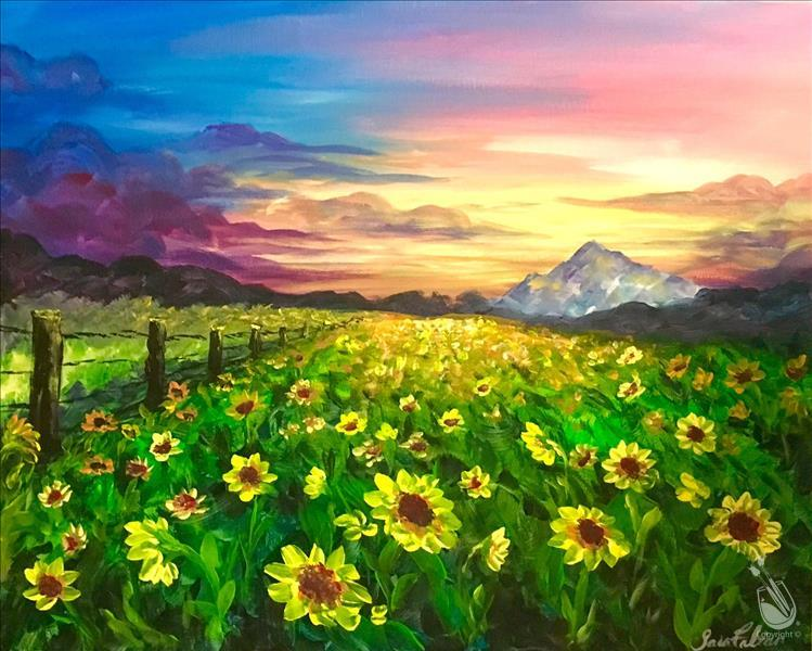 Field of Summer Sunflowers 3hr **LIMITED SEATING**