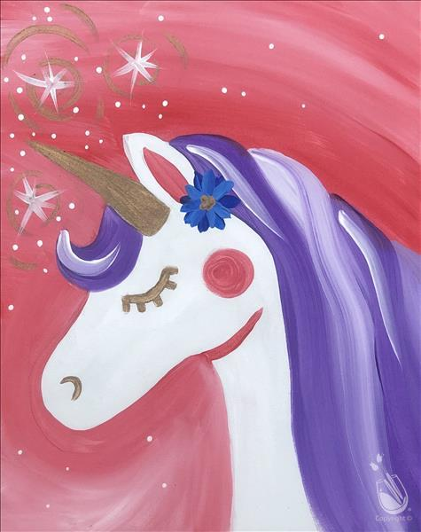Starlight Unicorn (All Ages) **LIMITED SEATING**