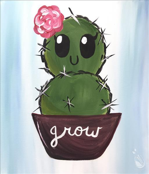 How to Paint Cactus Cutie - ALL AGES!