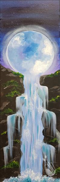 Luna Falls on Canvas or Wood