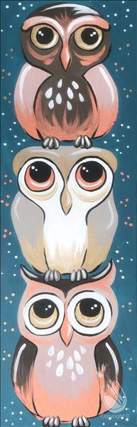 How to Paint PUBLIC: Owl Be There For You  **New Art**