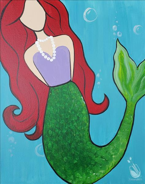 Mermaid Under the Sea**Ages 7&Up (No Alcohol)