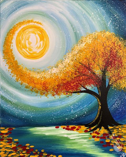 How to Paint Fall Glimmer **LIMITED SEATING**