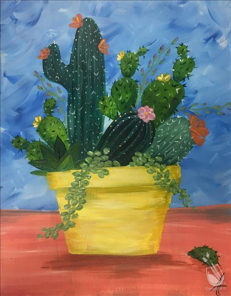 How to Paint Crazy Cacti