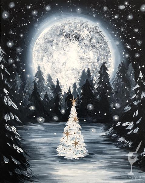 How to Paint Mystical Christmas - NEW ART!
