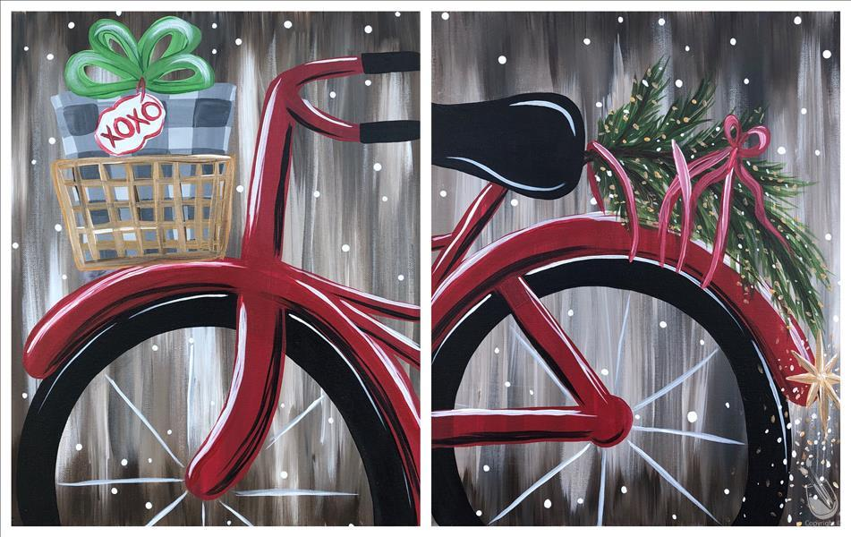 How to Paint A Christmas Ride - Set