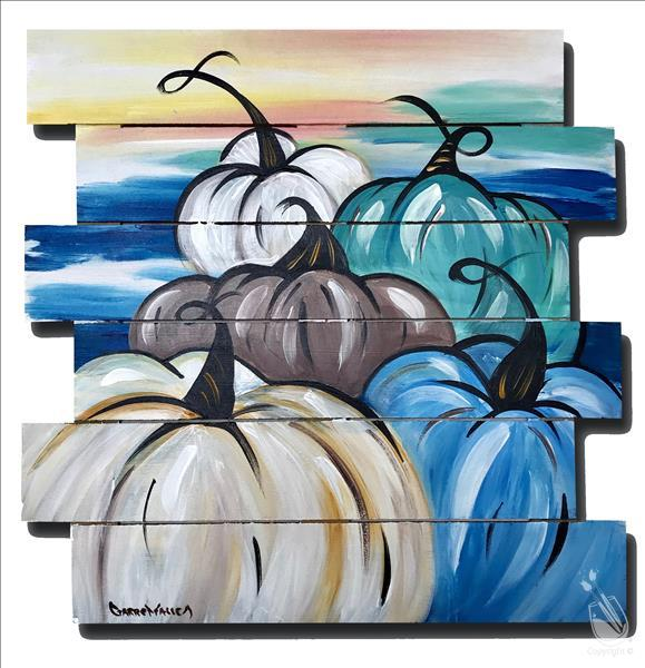 Afternoon ART: Gourds of the Gulf Pallet