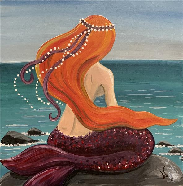How to Paint Mermaid Dreams