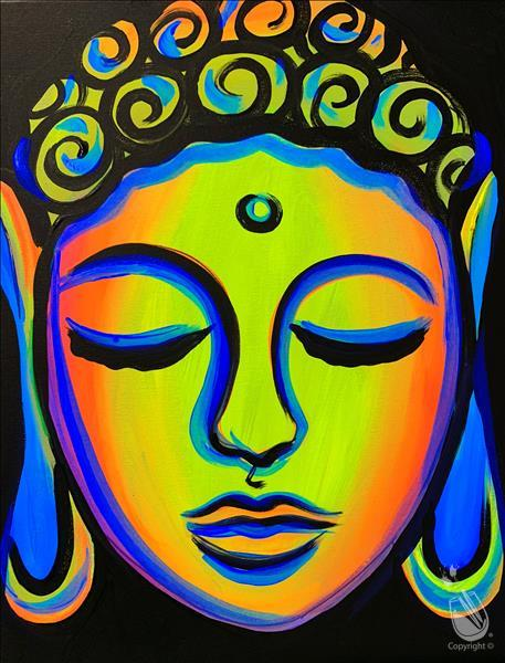 GLOWING BUDDHA**Public BLACKLIGHT Event**