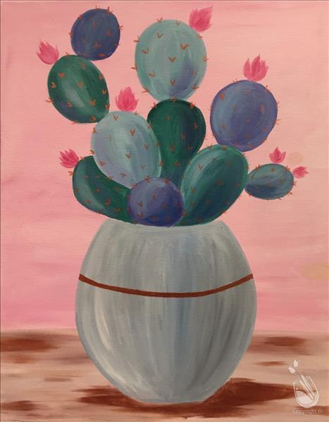 Pastel Cactus **LIMITED SEATING**