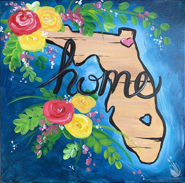 Love My Florida Home - Paint & Sip!