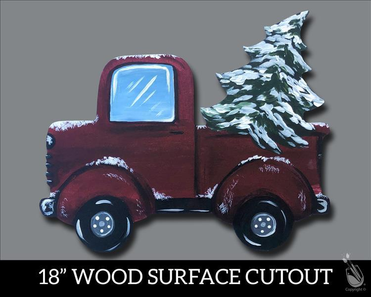 How to Paint Holiday Pick Up Cut Out - Adults Only